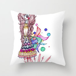Summer Symphony Throw Pillow