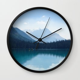 Afternoon on Emerald Lake Wall Clock