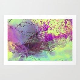 dreamboat Art Print
