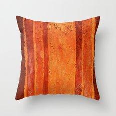 Brown Texture Throw Pillow