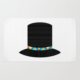 Dashing - the Top Hat Rug