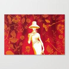 The Botanist Canvas Print