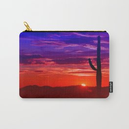 Wild colored Nature 11 Carry-All Pouch
