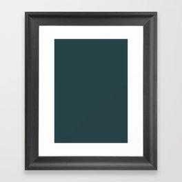 Japanese indigo Framed Art Print
