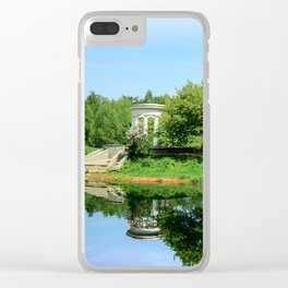 The first day of summer Clear iPhone Case