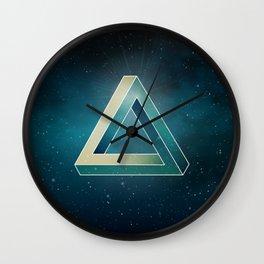 Penrose Universe Wall Clock