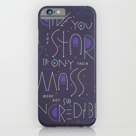 Haikuglyphics - Dear Someone iPhone & iPod Case