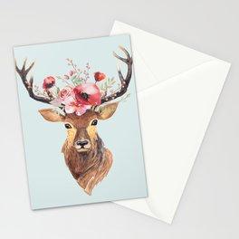 Bohemian Deer 2 Stationery Cards