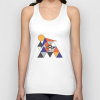 egypt Tank Tops featuring Egypt by Randy Mandy