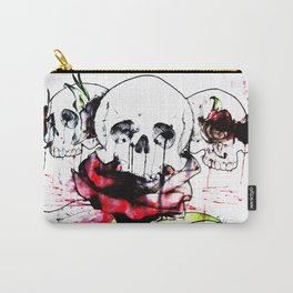 Hear no Evil. Speak no Evil, See no Evil. Carry-All Pouch
