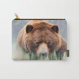 Grizzly Wood Carry-All Pouch