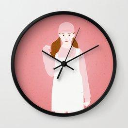 Kawaii Girl Wall Clock