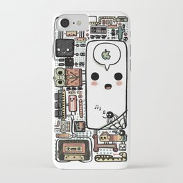 Inner Workings of an Iphone iPhone Case