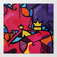 crown Canvas Prints featuring Crown by Arcturus
