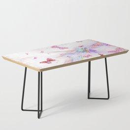 """Flash Dream ~ Butterflies"" Coffee Table"