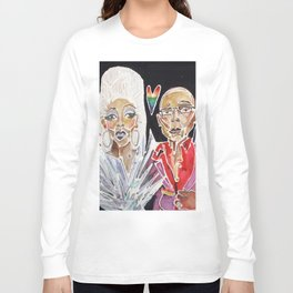 Ru Paul Long Sleeve T-shirt