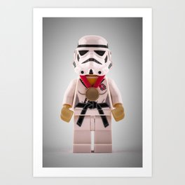 Imperial Judo Trooper Art Print