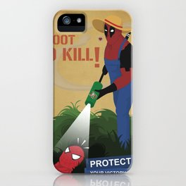 Protect your garden iPhone Case