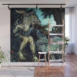 """""""How Now Spirit?"""" Fairy Art by Arthur Rackham Wall Mural"""