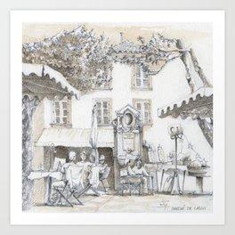 Place en France, Cassis Art Print