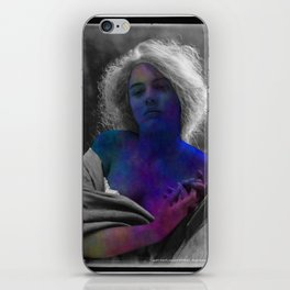 Beautiful, Vintage and Abstract Woman iPhone Skin