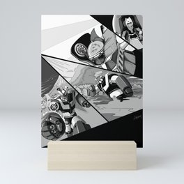 Mazinger Z (ink recreation) Mini Art Print