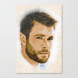 A Tribute to CHRIS HEMSWORTH Canvas Print