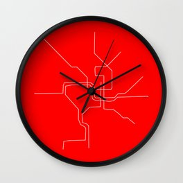 DC Metro Wall Clock