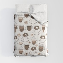 Coffee Cups Comforters