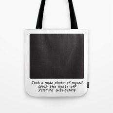 Nude Photo Tote Bag