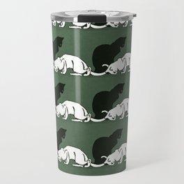 "Théophile Steinlen  ""Frise de chats"" (original) Travel Mug"