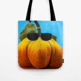 Pumpkin handmade from felted wool for celebration of Halloween Tote Bag
