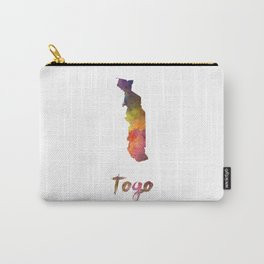 Togo in watercolor Carry-All Pouch