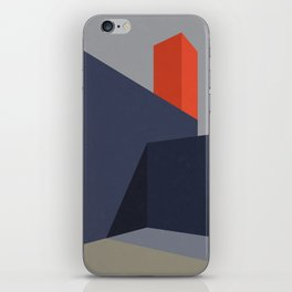 Minimal Urban Landscape iPhone Skin