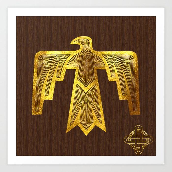Ilvermorny Thunderbird Art Print