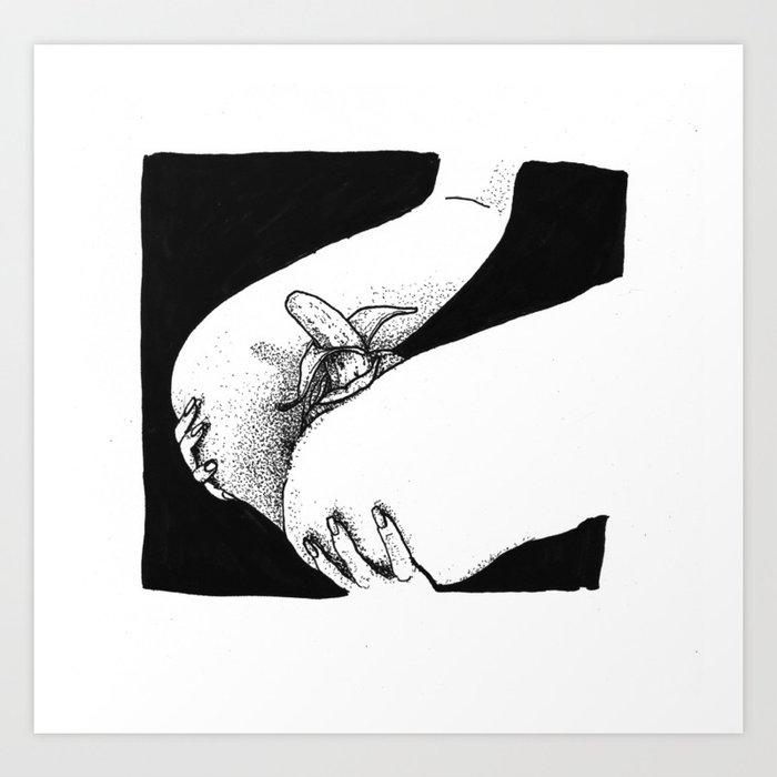 Eat Pussy Its Organic Art Print