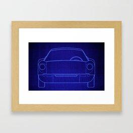 DBM BP PORSCHE 904 front Framed Art Print