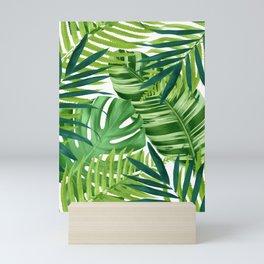 Tropical leaves III Mini Art Print