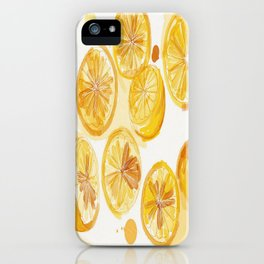 Lemons Make Lemonade iPhone Case