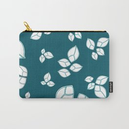 Leafs in green field Carry-All Pouch