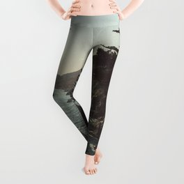 Road Trip USA - big sur Leggings