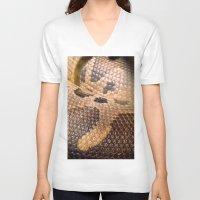 anaconda V-neck T-shirts featuring Anaconda by theGalary