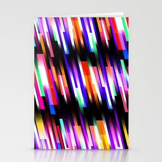 Distorted Skyline Stationery Cards