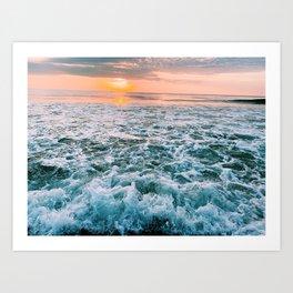 Outer Banks Sunrise  Art Print