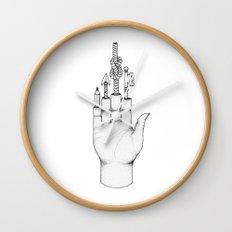 The magic hand Wall Clock
