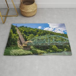 Johnstown, PA Inclined Plane Rug