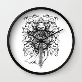 Knightly Wall Clock
