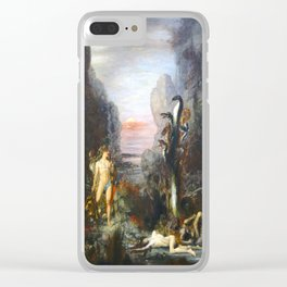 The Lernaean Hydra by Gustave Moreau (1876) Clear iPhone Case