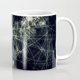 Infinity Particles Abstract Coffee Mug