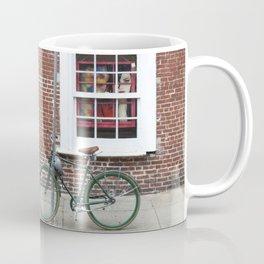 New Orleans Green Bicycle Coffee Mug